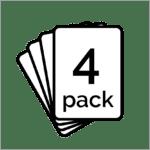 4 Pack